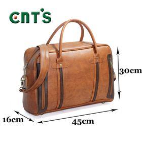 Túi xách du lịch kiêm cặp công sở CNT TX27 Bò Đậm giá sỉ