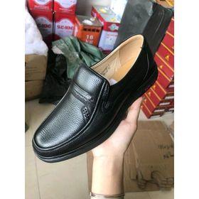 Giày dép-giày nam trung niên chất da bò giá sỉ