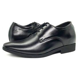 Giày tây nam tăng chiều cao da bò - cao thêm 6 cm N2101BD giá sỉ