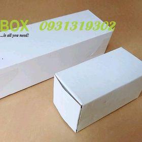 Hộp carton Trắng dài size 31x10x8cm giá sỉ