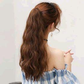 Tóc ngoạm xù sóng từ tơ pha tóc thật sỉ siêu rẻ