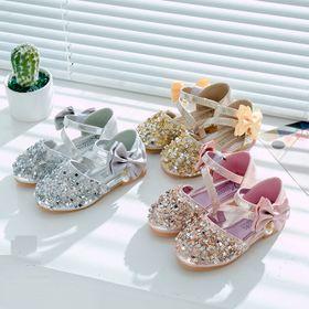 Giày búp bê công chúa lấp lánh cho bé gái giá sỉ