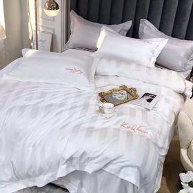 Bộ Cotton lụa 60s cho khách sạn KQ104 giá sỉ