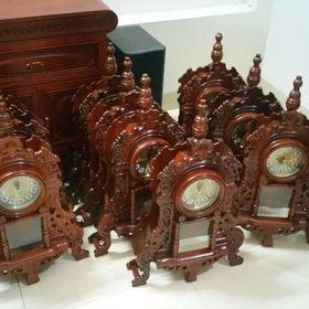 Đồng hồ gỗ hương giá sỉ