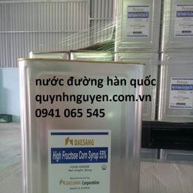 Đường nước Syrup 55 giá sỉ