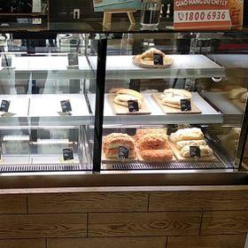 Tủ trưng bày bánh kem The Coffee House giá sỉ