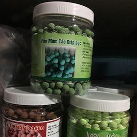500g Viên mầm đậu nành hồng sâm cacao tảo giá sỉ