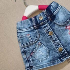 Xuất xưởng tiếp lô quần váy jean co giãn cao cấp 1-8 giá sỉ