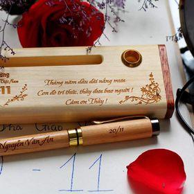 cung cấp bút gỗ khắc tên đẹp giá sỉ