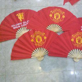 Quạt vải Huế - Phiên bản Quỷ đỏ Glory Man United cho các Manucians giá sỉ