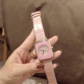 Đồng hồ nữ GUOU 8162 dây da giá sỉ