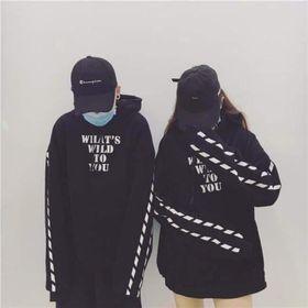 Áo hoodie nam nữ what wild to you giá sỉ