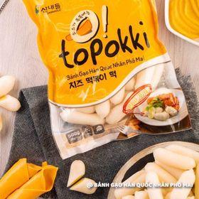 Bánh gạo Hàn Quốc Topokki nhân phomai giá sỉ