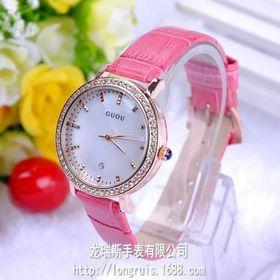 Đồng hồ nữ GUOU 2120 có lịch giá sỉ