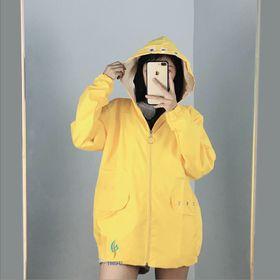 Áo khoác dù nữ kiểu đơn giản giá sỉ