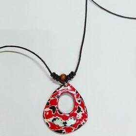 vòng đeo cổ mặt vỏ dừa Việt Nam