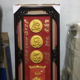 Lịch gỗ phù điêu cao cấp nhủ vàng tặng 1 lốc lịch cao cấp giá sỉ