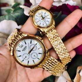 đồng hồ cặp nam nữ Rosa mạ vàng giá sỉ