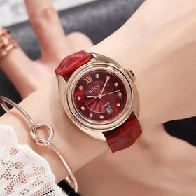 Đồng hồ nữ GUOU 8211 size bé có lịch giá sỉ