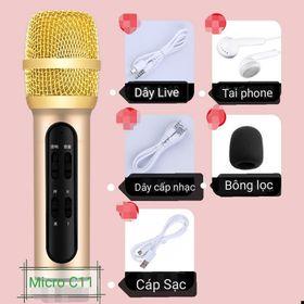 Trọn bộ dụng cụ livestream bán hàng có micro giá sỉ
