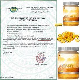 omega 3 wellness giá sỉ