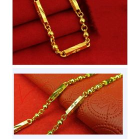 dây chuyền nam mạ vàng bracelet giá sỉ