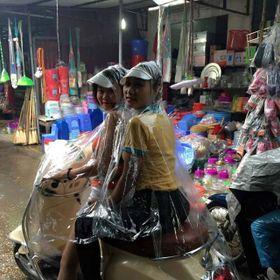Áo mưa đôi trong suốt nhựa vi sinh giá sỉ