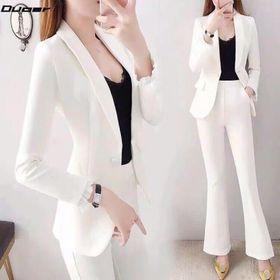 Set bộ vest trắng giá sỉ