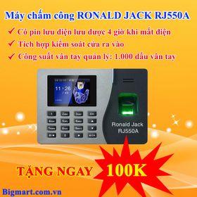 Máy chấm công vân tay Ronald Jack RJ550A giá sỉ