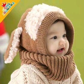 set mũ len khan cho bé giá sỉ