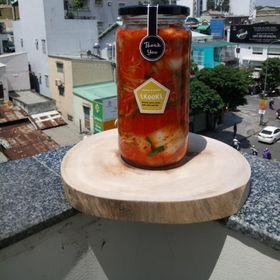 1kg Kim chi HQ hũ thủy tinh 1kg giá sỉ
