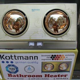 Đèn sưởi nhà tắm 2 bóng giá sỉ