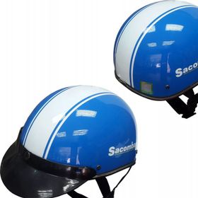 Nón bảo hiểm quảng cáo nón bảo hiểm in theo yêu cầu