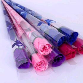 Hoa hồng nguyên cây hoa sáp thơm giá sỉ