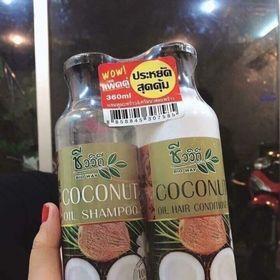Set Dầu Gội Dầu Xả Dừa Thái Lan giá sỉ