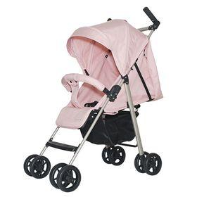 Xe đẩy trẻ em ALB1VN khung Aluminum siêu nhẹ - Hồng phấn giá sỉ