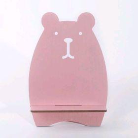 đế điện thoại gỗ mẫu chuột hồng giá sỉ