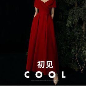 Đầm dạ hội tay cách điệu cao cấp giá sỉ