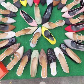 Giày bích mũi nữ Đổ buôn ôm lô giá rẻ tách lô 60 đôi giá sỉ