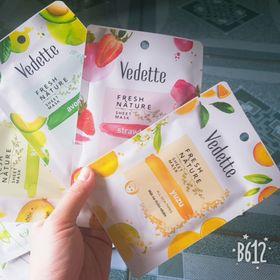Mặt nạ trái cây/thiên nhiên dạng gói Vedette 25g/22ml giá sỉ