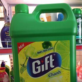 Nước Rửa Chén Gift Hương Chanh 4kg giá sỉ