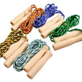 đồ chơi nhảy dây cán gỗ giá sỉ
