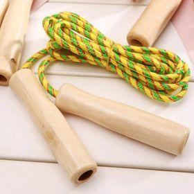 đồ chơi nhảy dây cán gỗ nha giá sỉ