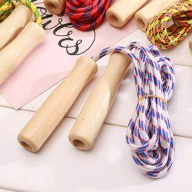 đồ chơi nhảy dây loại cán gỗ giá sỉ