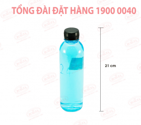Chai nhựa PET MISO MS117 400ml giá sỉ