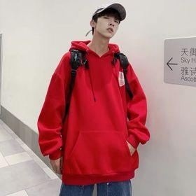 Áo hoodie màu kem đỏ nỉ nhập giá sỉ