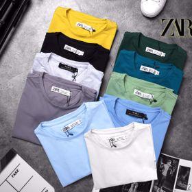 áo thun trơn cotton 100 đủ màu giá sỉ