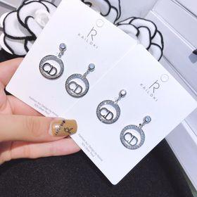 Bông tai CD bạc 925 giá sỉ