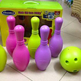 Bộ bowling nhựa 7 món Vinamilk giá sỉ
