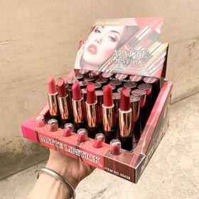 Son kiss beauty hộp 24 cây tông đỏ giá sỉ